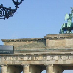 Il Muro alla Porta di Brandeburgo